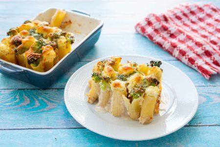 Rigatoni con broccoli al forno: la ricetta del primo piatto facile e gustoso