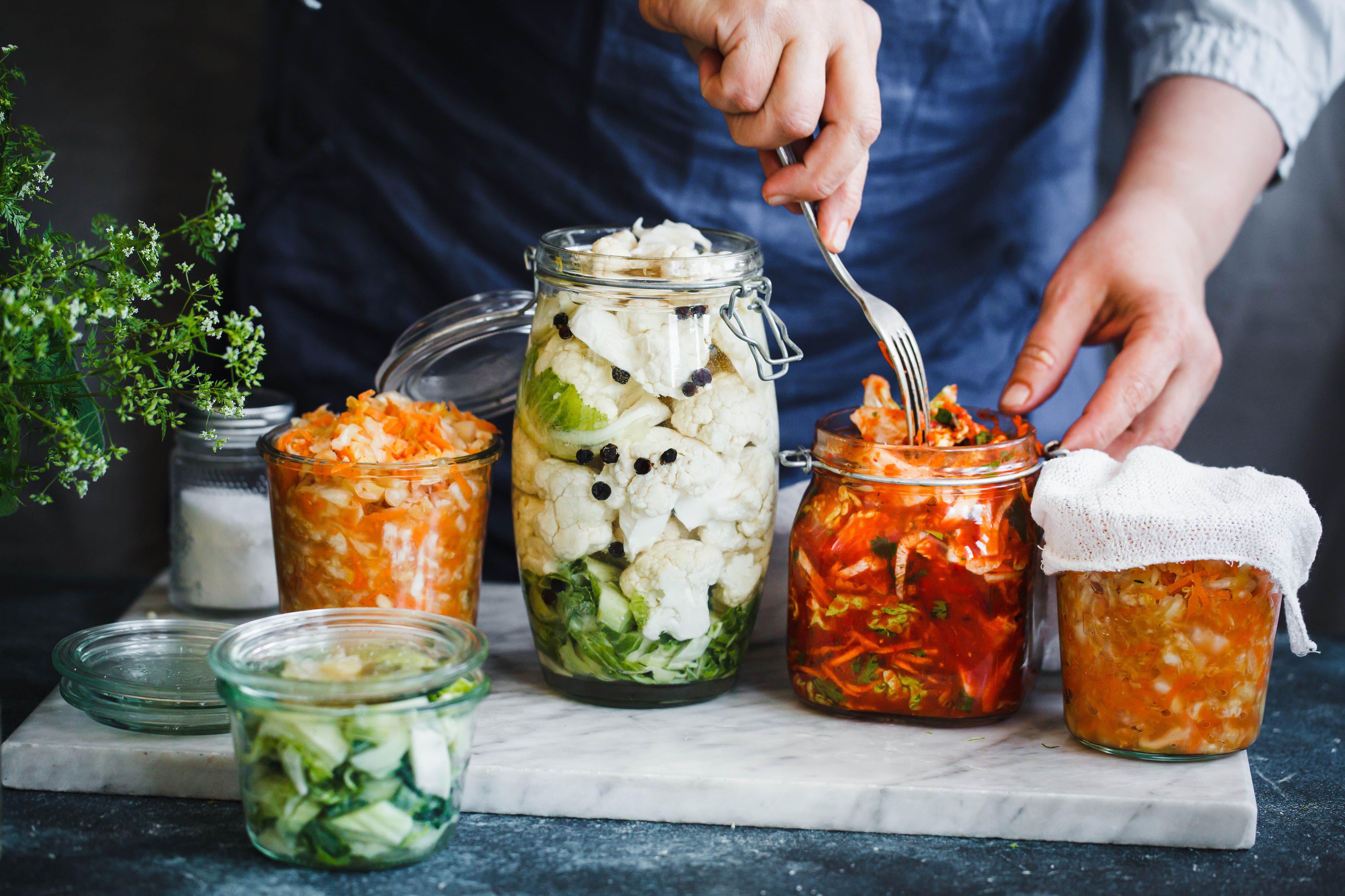 8 alimenti fermentati che migliorano la digestione