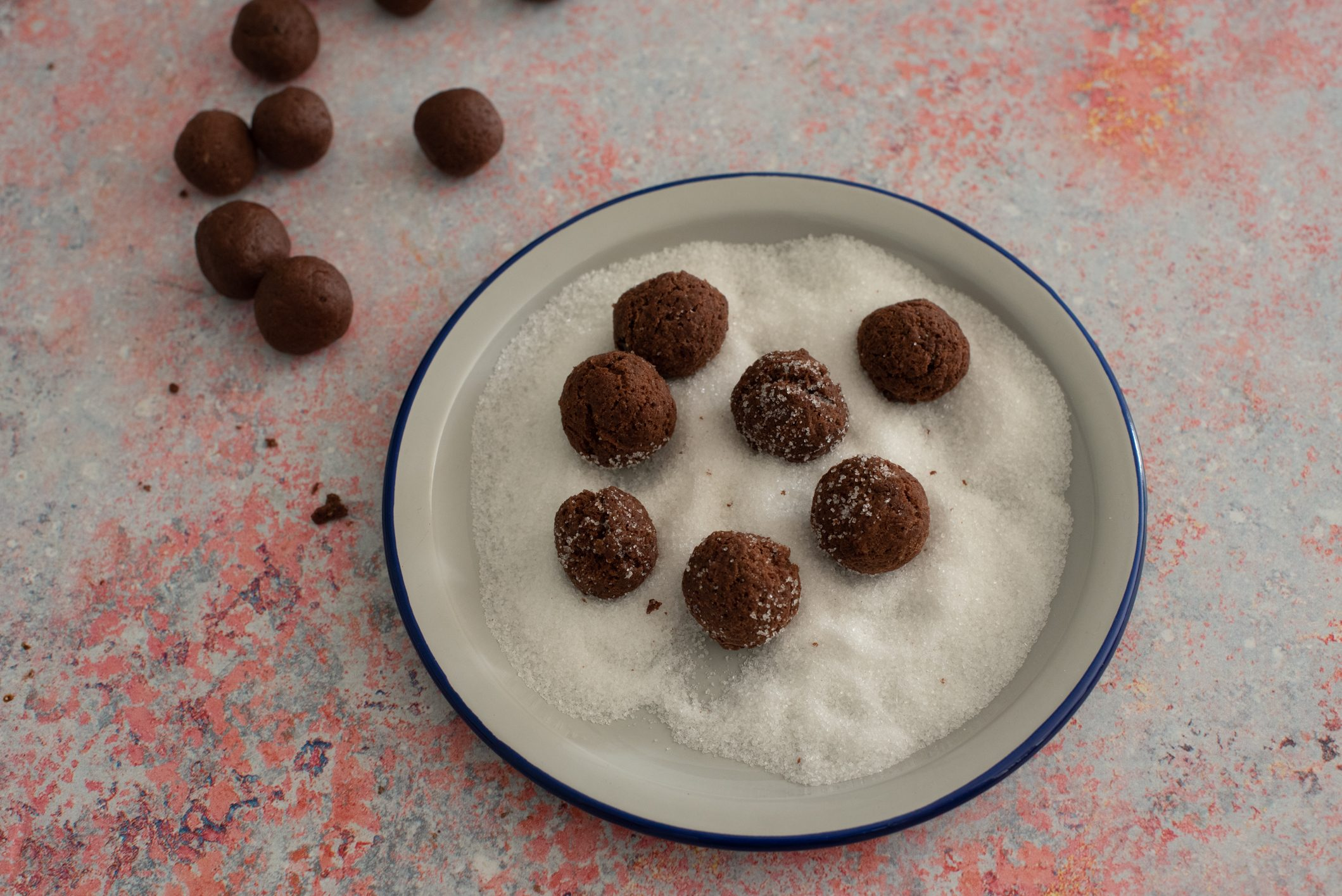 Castagnole al cioccolato