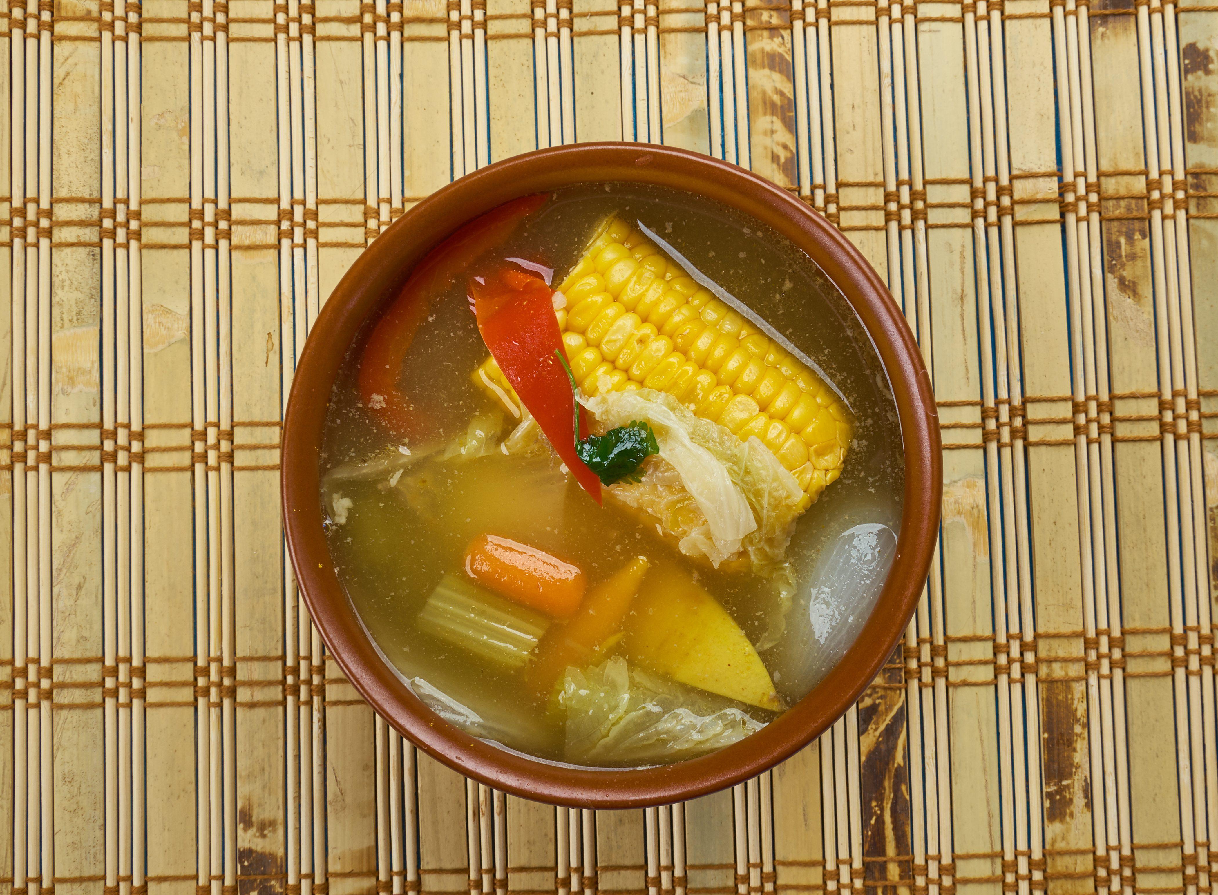 I piatti di Carnevale all'estero: la corn soup di Trinidad e Tobago