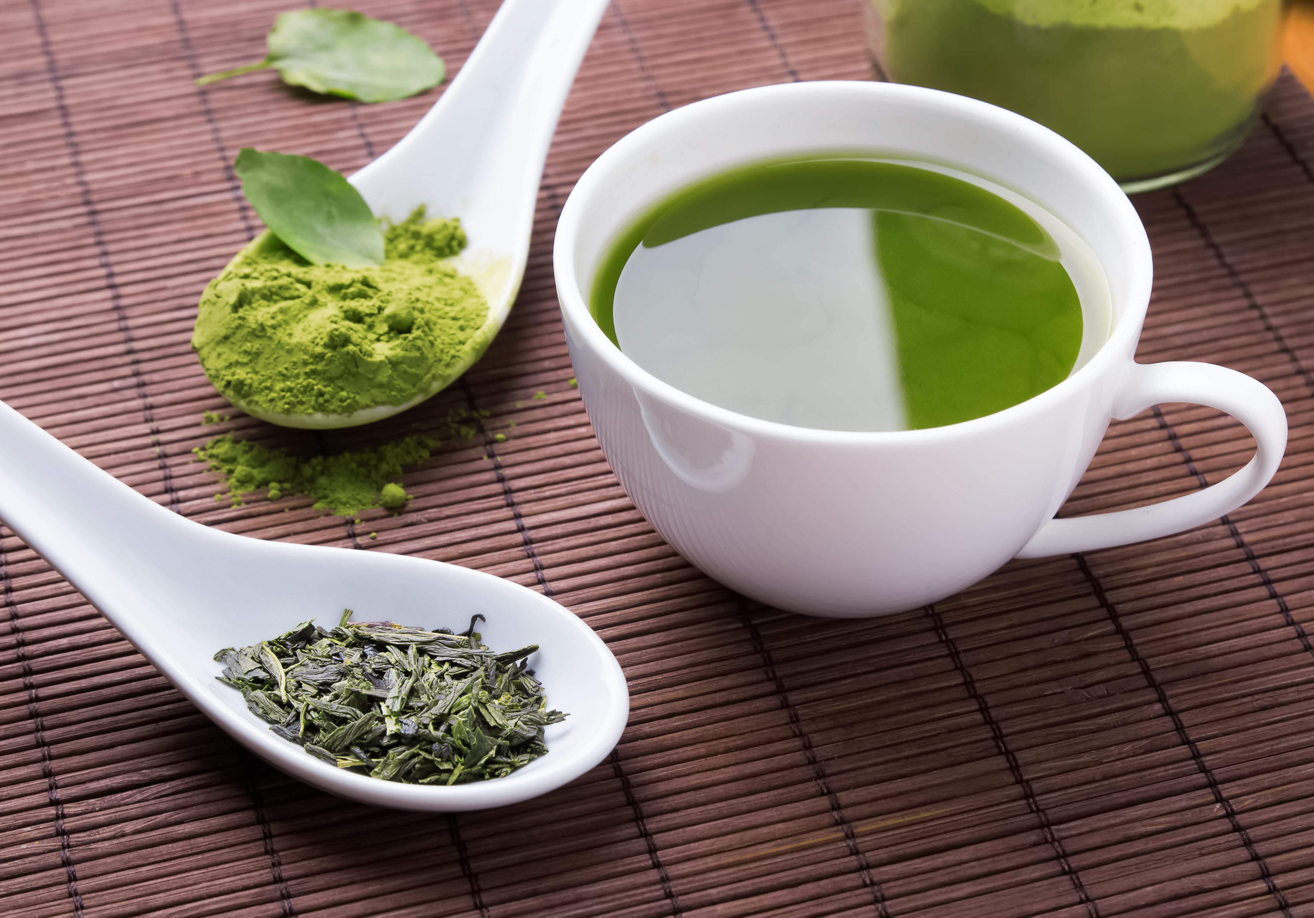alimenti anti infiammatori: té verde