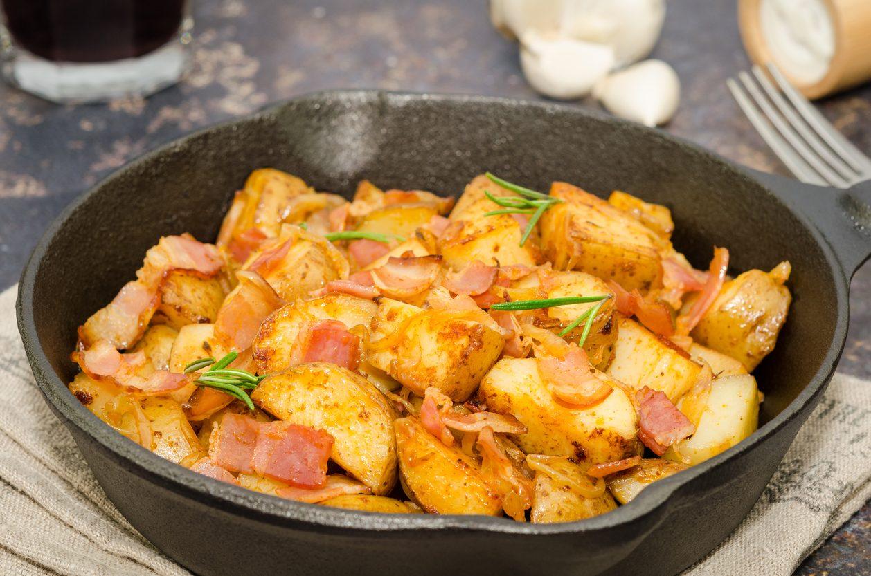 Patate alla contadina: la ricetta del contorno facile e saporito