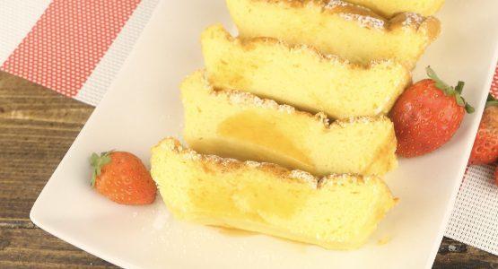 Torta giapponese con 3 ingredienti: la ricetta del dolce soffice e semplice da preparare