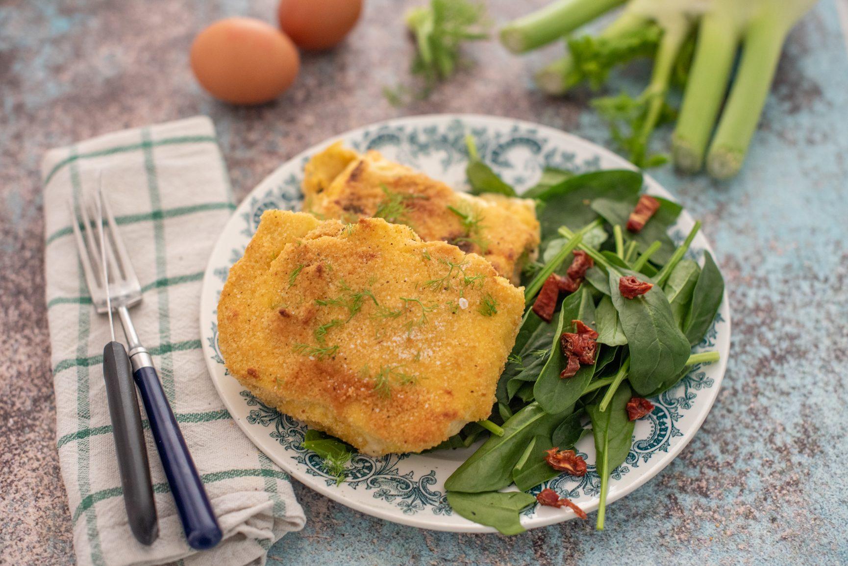Cotolette di finocchi: la ricetta del piatto vegetariano goloso e facile da realizzare