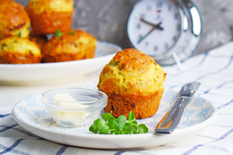 Cucinare con gli avanzi: muffin alle verdure