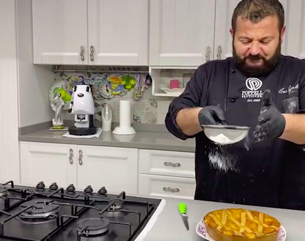La video ricetta per una pastiera perfetta di Ciro Poppella