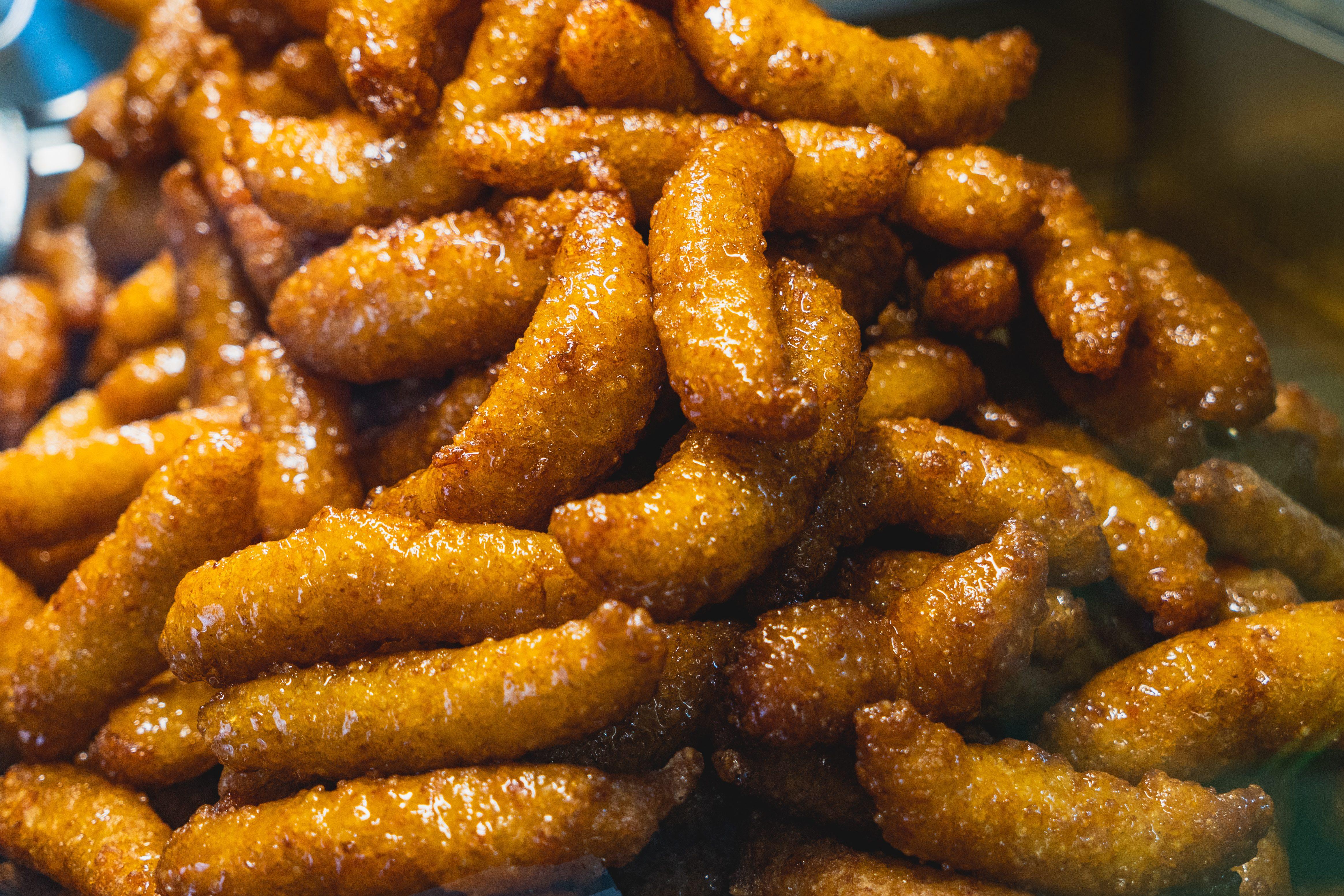 Piatti di San Giuseppe, crispelle di riso