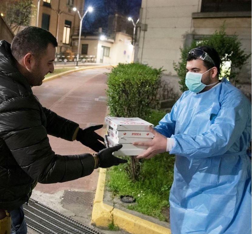 Coronavirus, a Torino arriva la Pizza Sospesa per i medici e gli infermieri