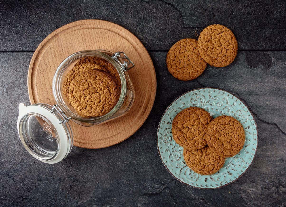 Biscotti integrali al miele: la ricetta senza burro e zucchero facile e veloce