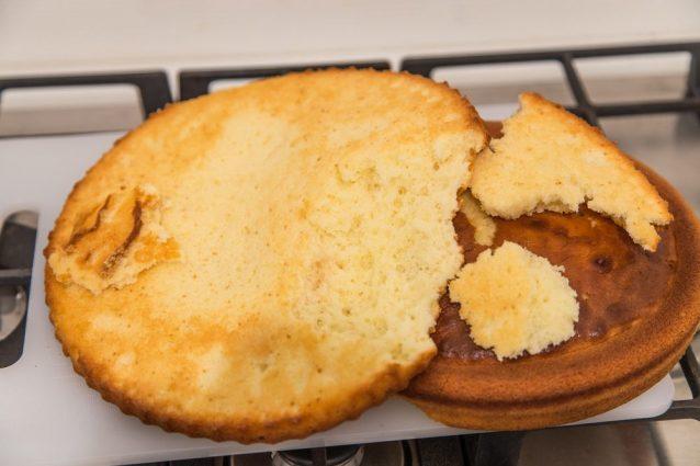 Come rimediare a una torta venuta male