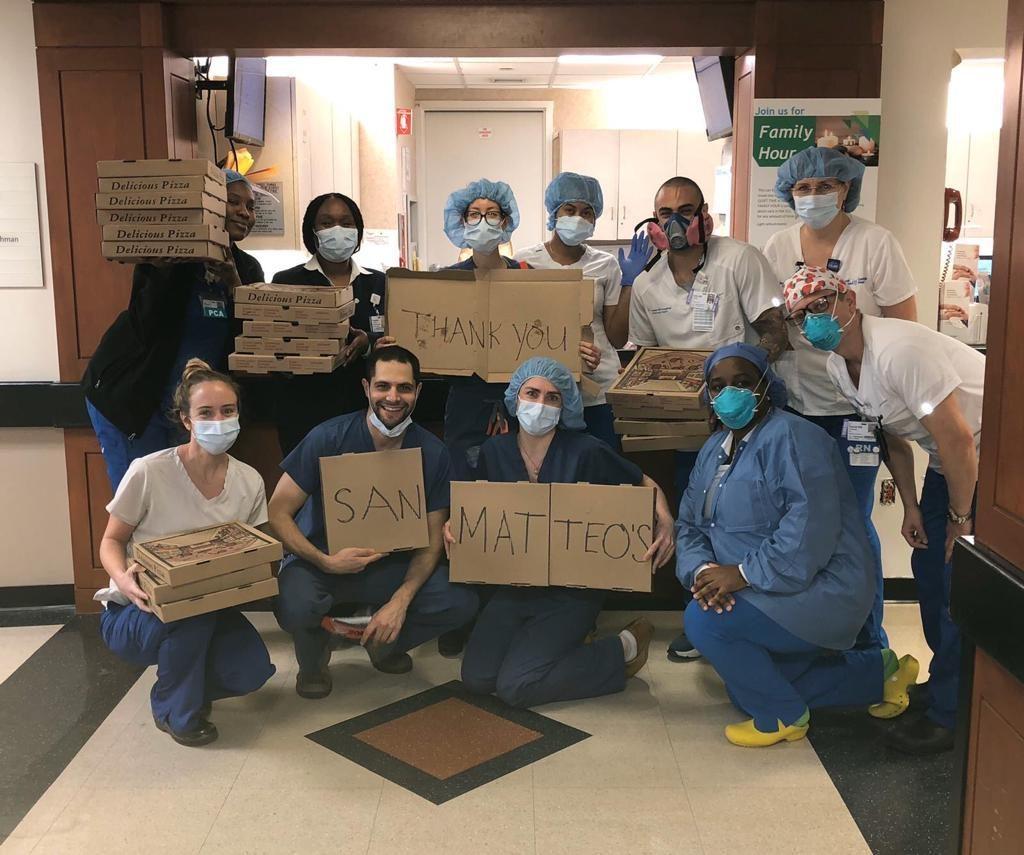 Da Salerno a New York: la pizza solidale del ristorante San Matteo per medici e infermieri