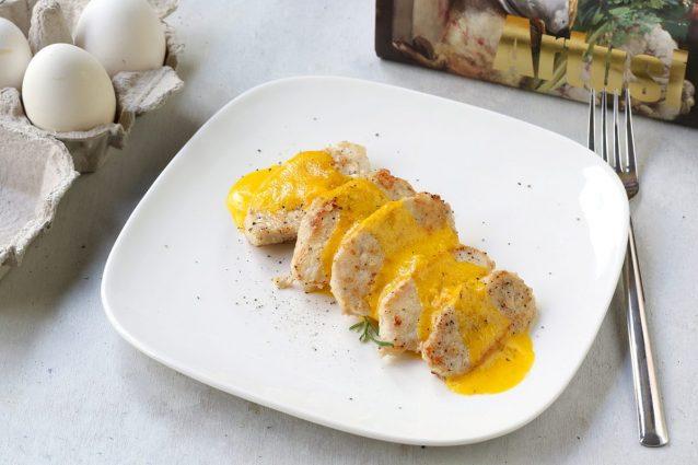 Ricette Italiana Di Pollo.Pollo In Salsa D Uovo Dalla Ricetta Del Pellegrino Artusi