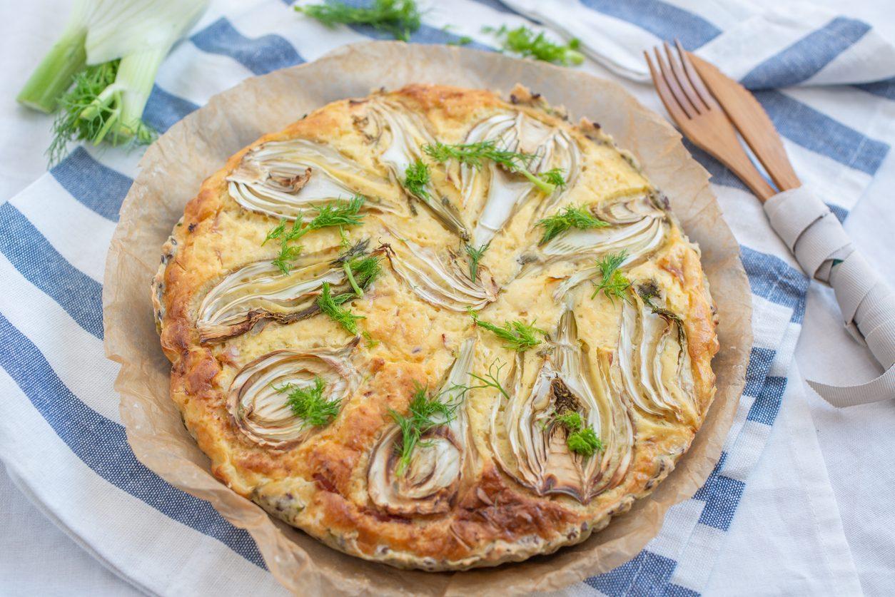 Tarte tatin ai finocchi: la ricetta della torta salata semplice e originale