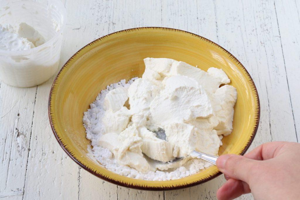 Farcitura della torta Fedora