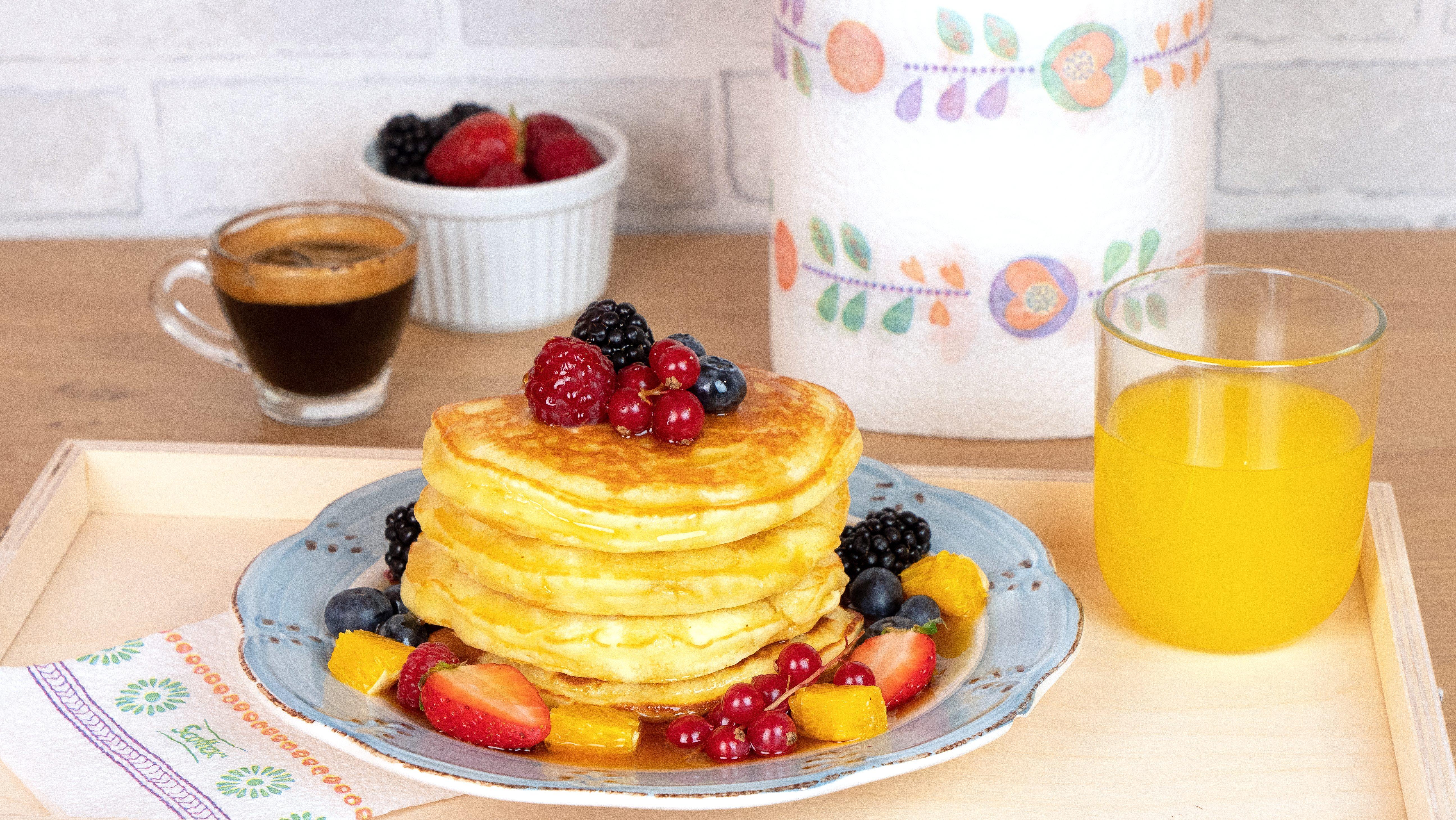 Pancakes alla ricotta: la ricetta facile e veloce per farli alti e morbidi!