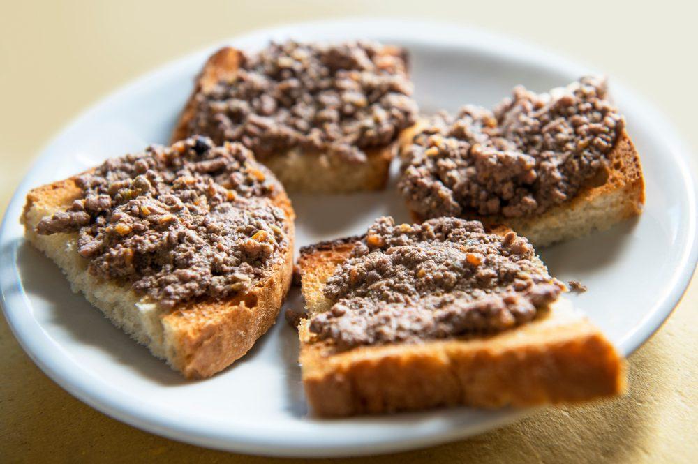 Piatti tipici toscani: il crostino