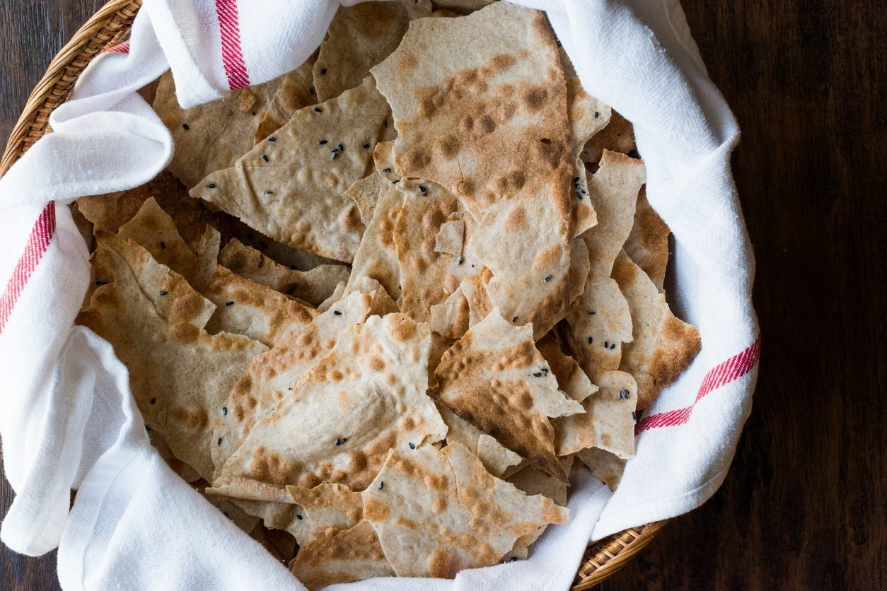 piatti tipici sardi: pane carasau