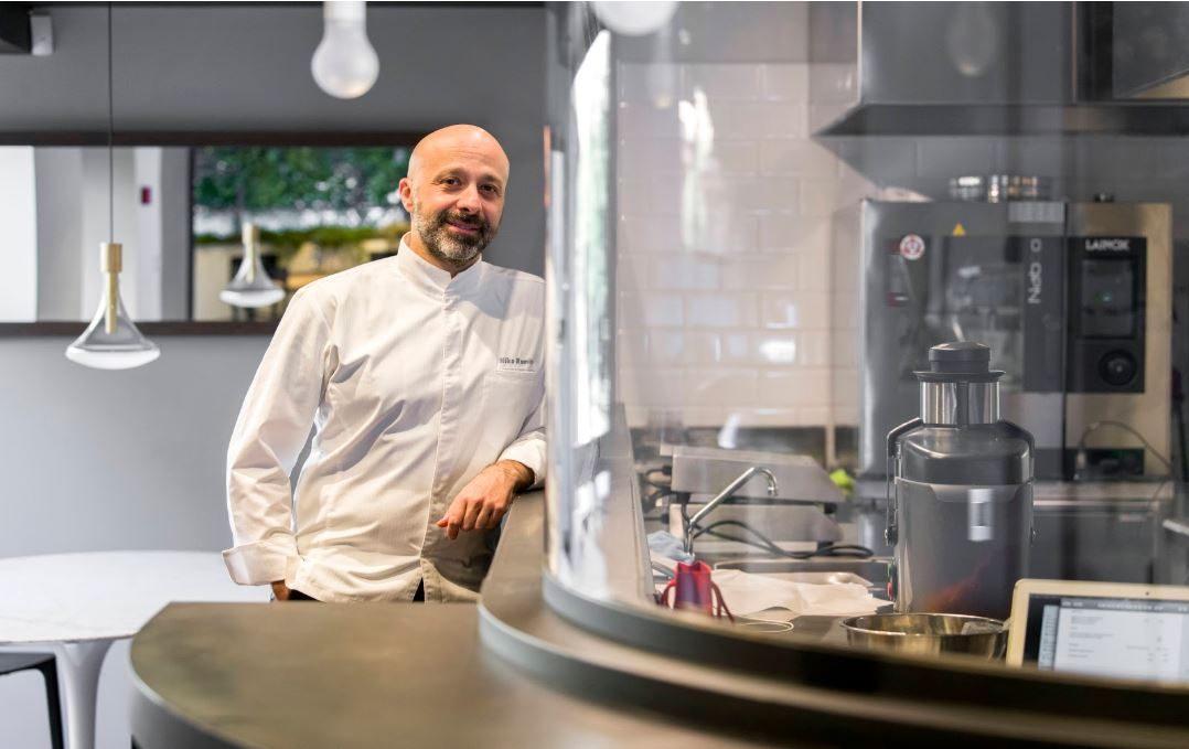Niko Romito torna in cucina: Spazio a Roma riparte dal delivery