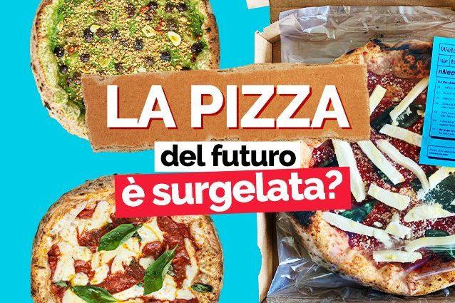 La pizza del futuro è surgelata?La storia di Vincenzo Onnembo e l'assaggio della sua pizza