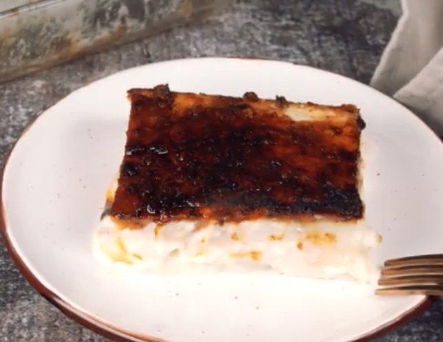 Torta cremosa: la ricetta del dolce al latte goloso e profumato