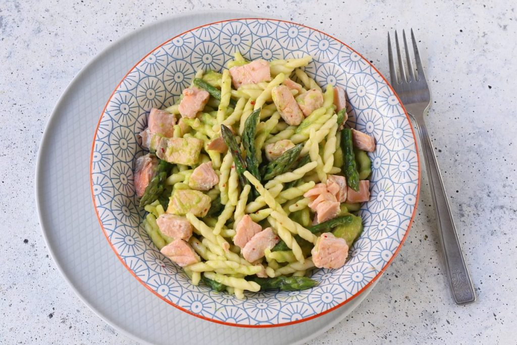 trofie asparagi e salmone