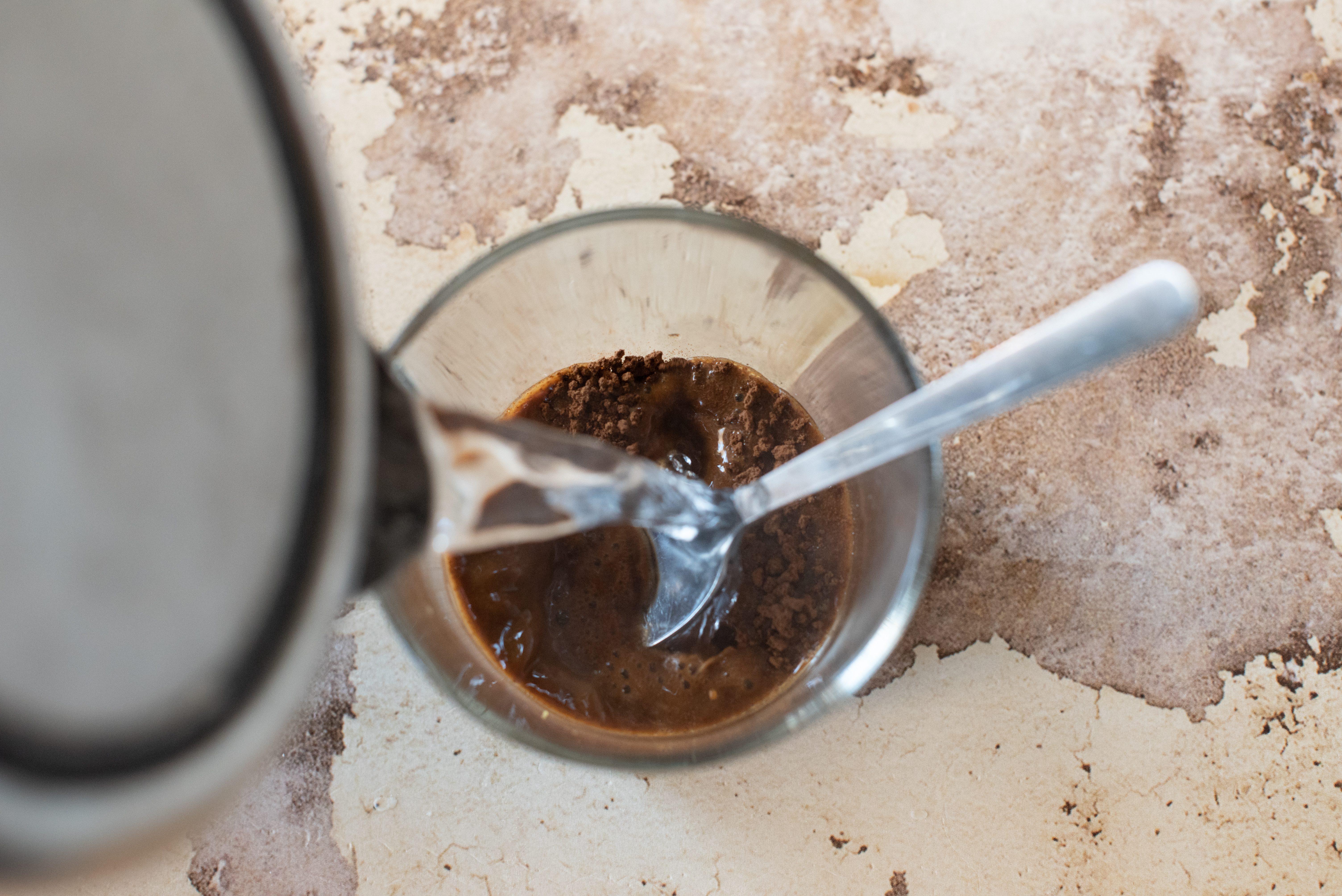 Crema caffè e mascarpone, fare il caffè