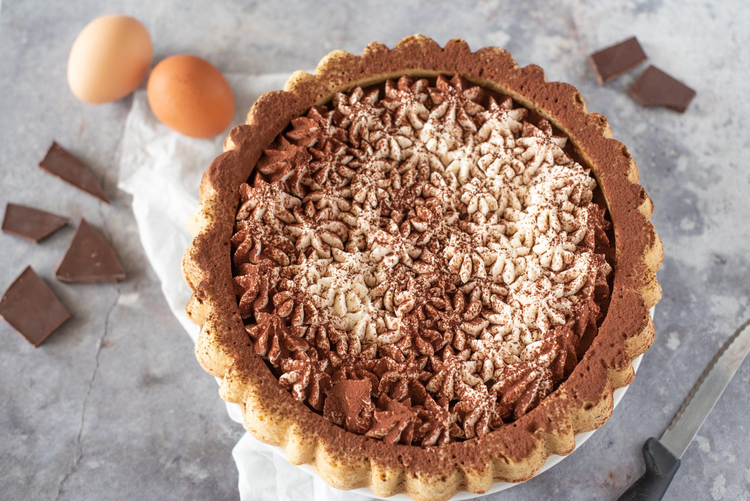 Crostata morbida al tiramisù: la ricetta del dolce originale e super goloso