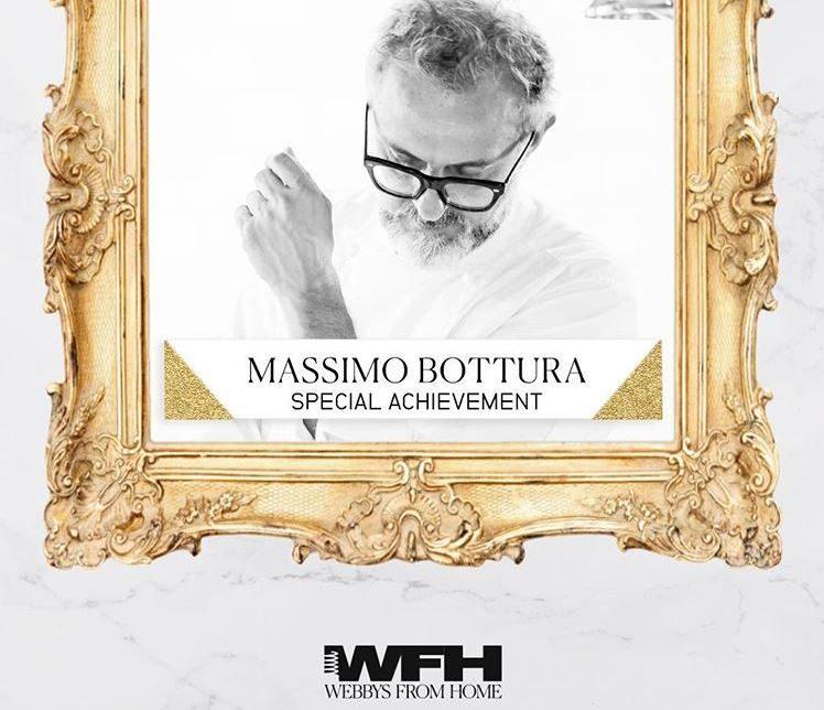 Massimo Bottura vince il Webby Awards e annuncia: il 2 giugno riapre l'Osteria Francescana