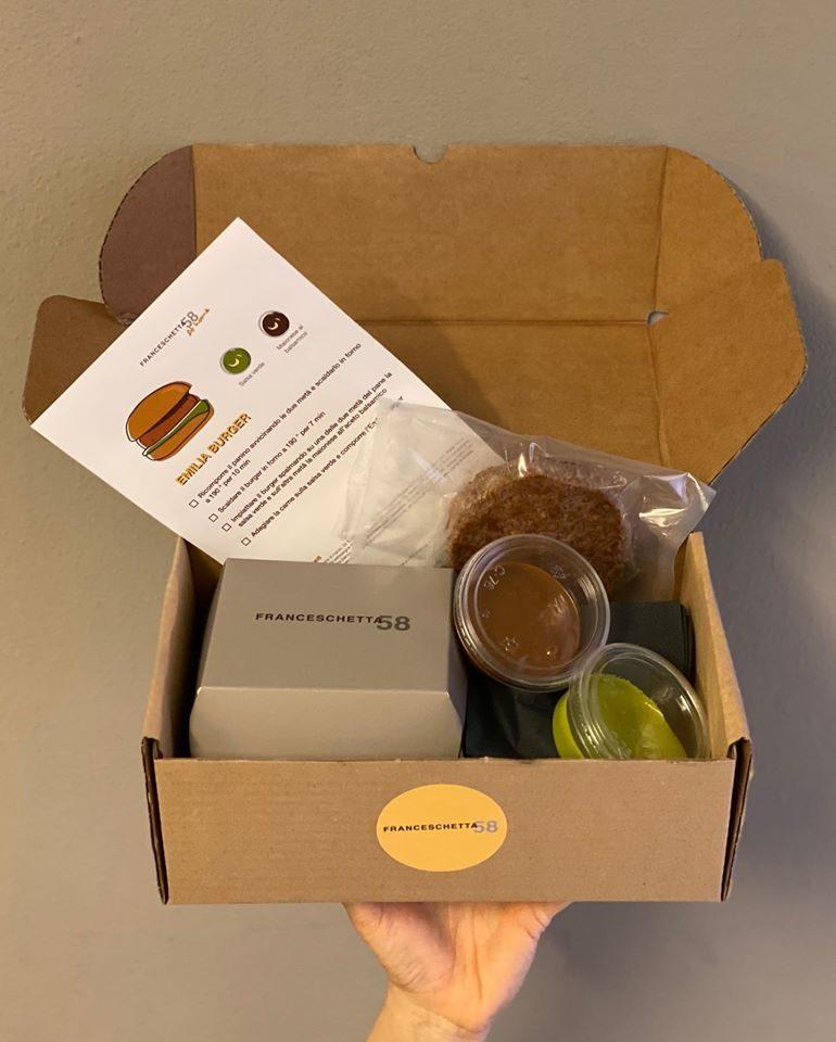 meal kit de La Franceschetta di Massimo Bottura