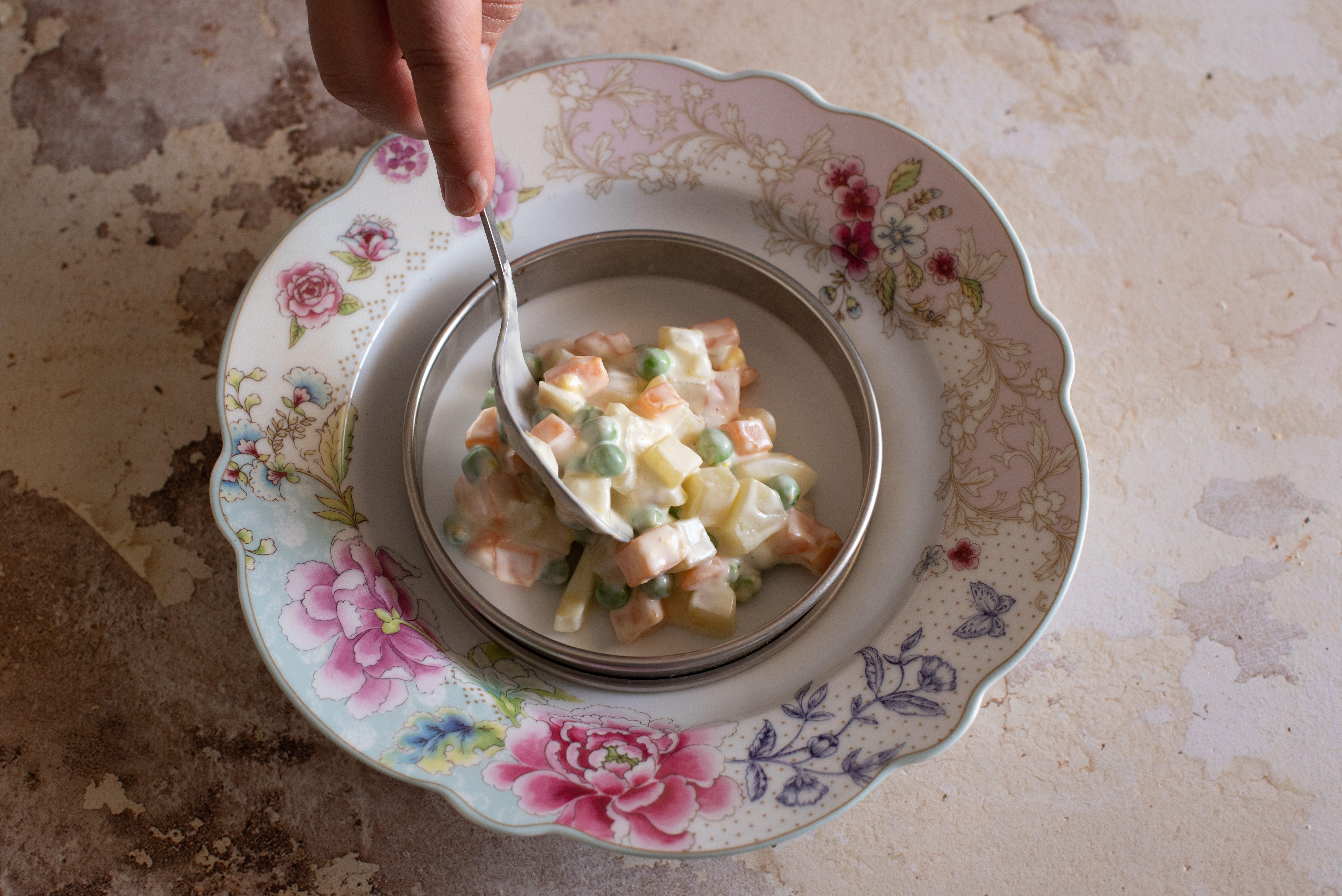 tartare di insalata russa