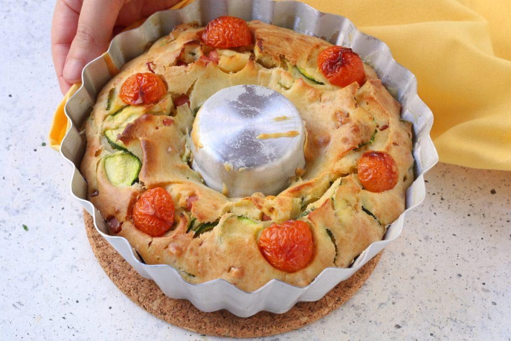 sfornare la ciambella salata