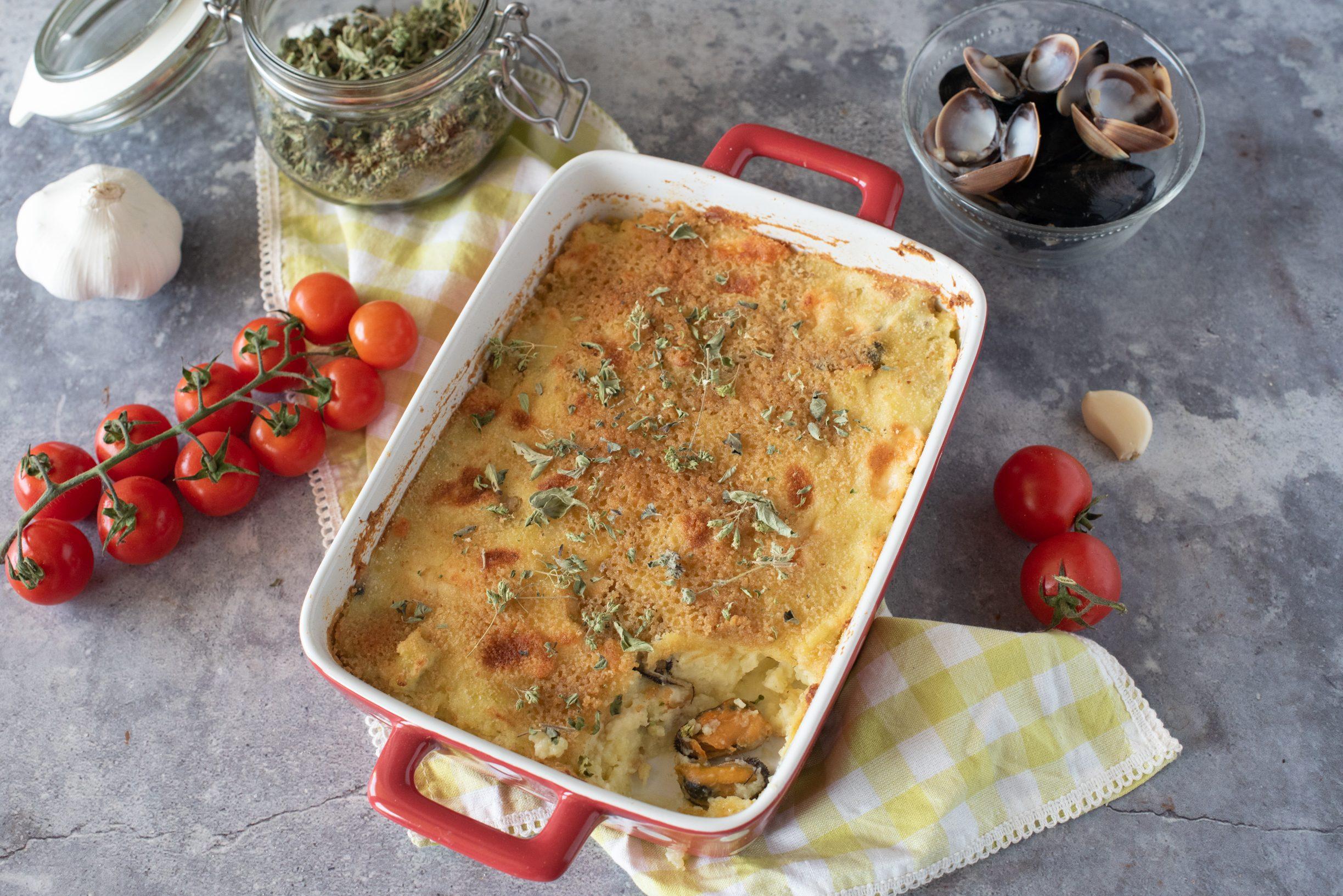 Gâteau di mare: la ricetta del celebre piatto napoletano in versione mediterranea