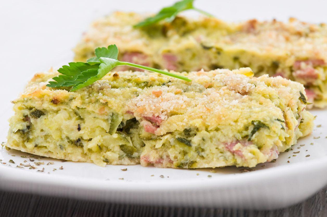 Gateau di zucchine: la ricetta alternativa al classico con le patate