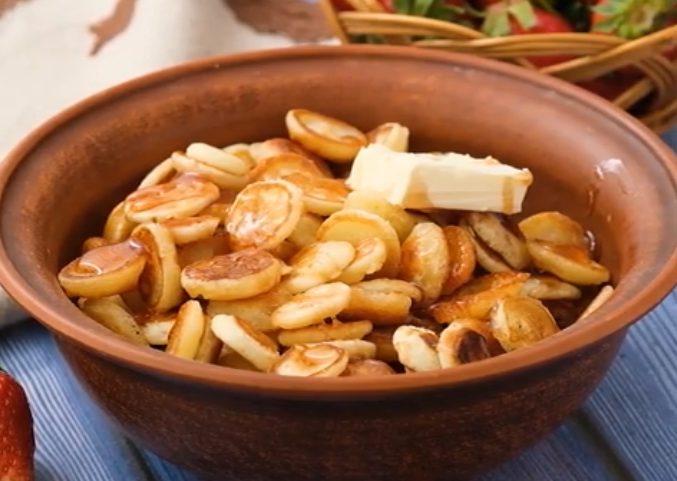 Pancake cereal: la ricetta dei mini pancakes a forma di cereali