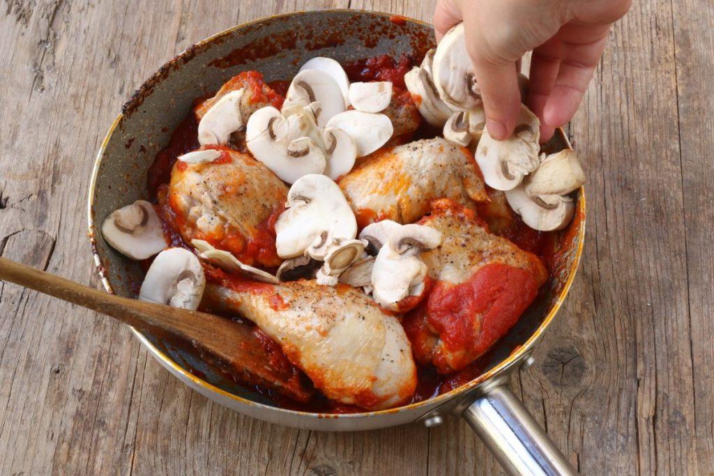 aggiungere gli champignon