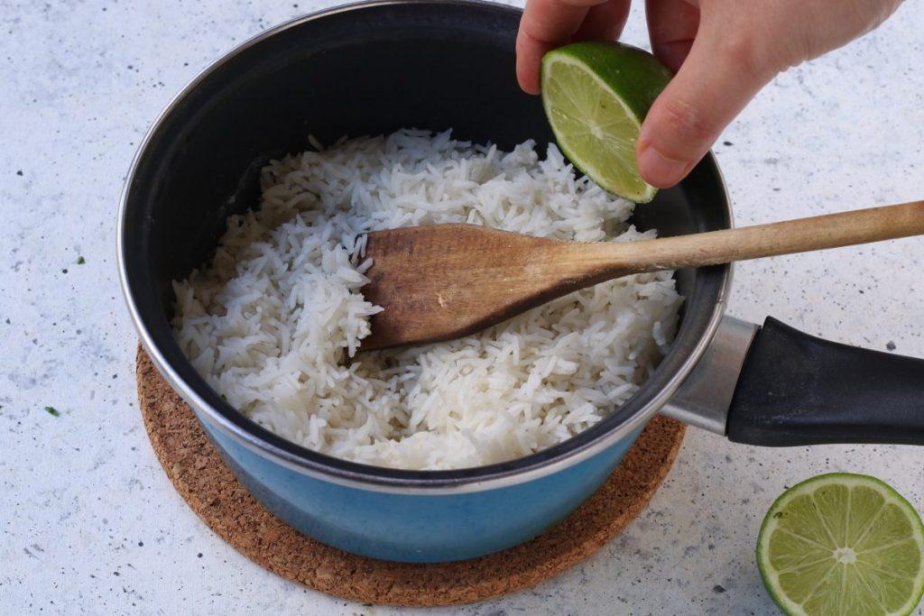 condire il riso freddo