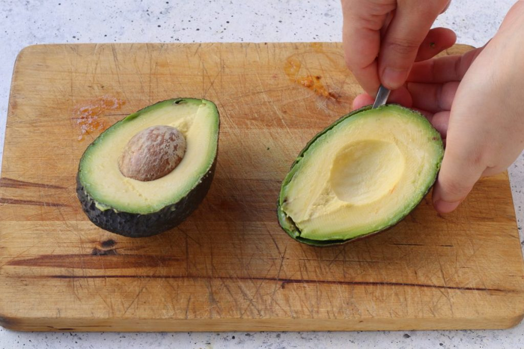 pulire l'avocado