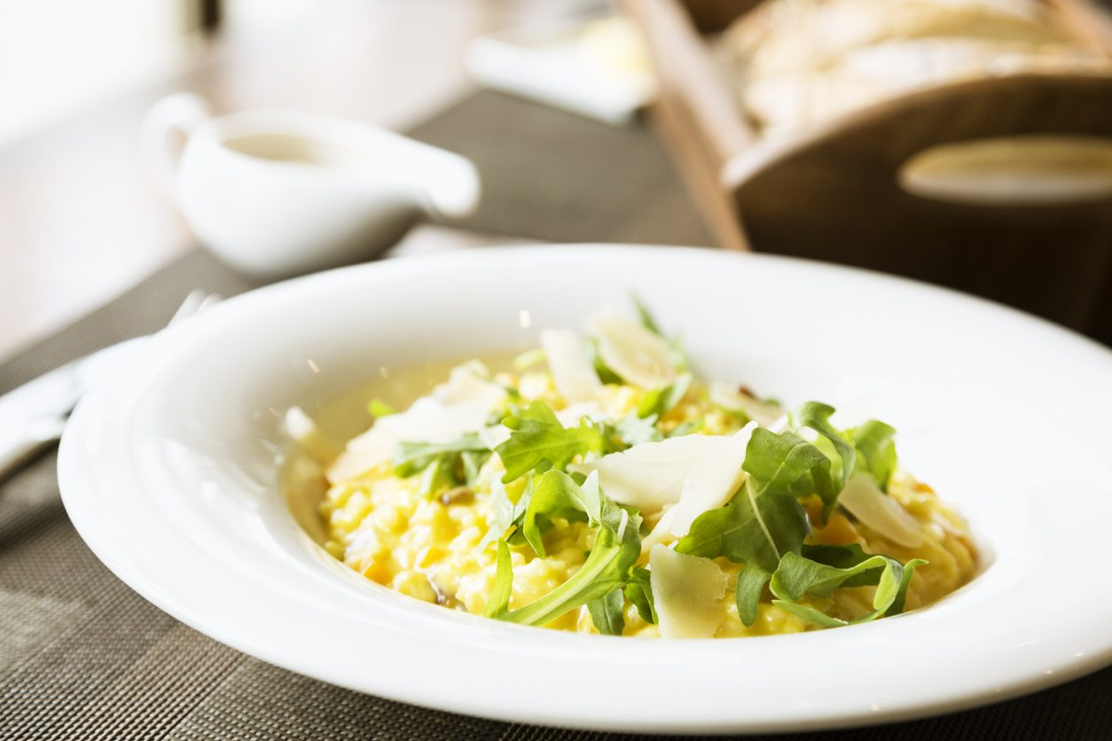 Risotto alla rucola: la ricetta del primo piatto semplice e saporito