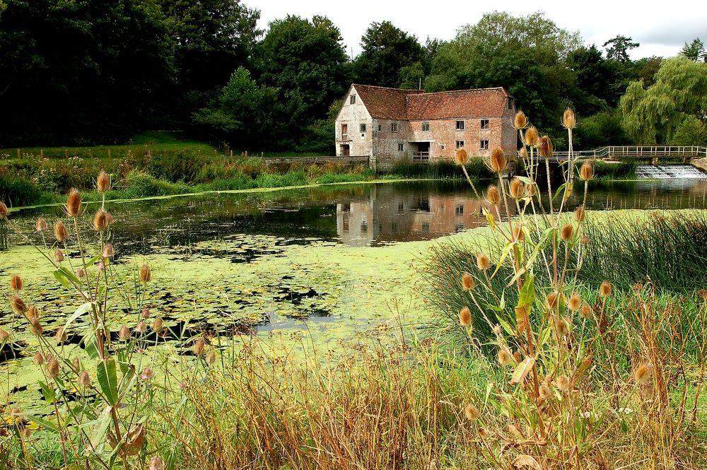 In Inghilterra un mulino millenario torna a produrre farina durante la pandemia