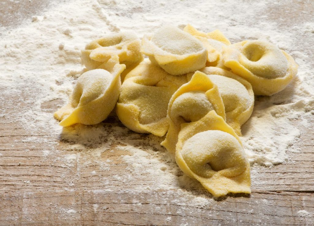 cucina ligure: pansoti