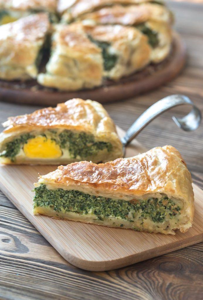 cucina ligure: torta pasqualina