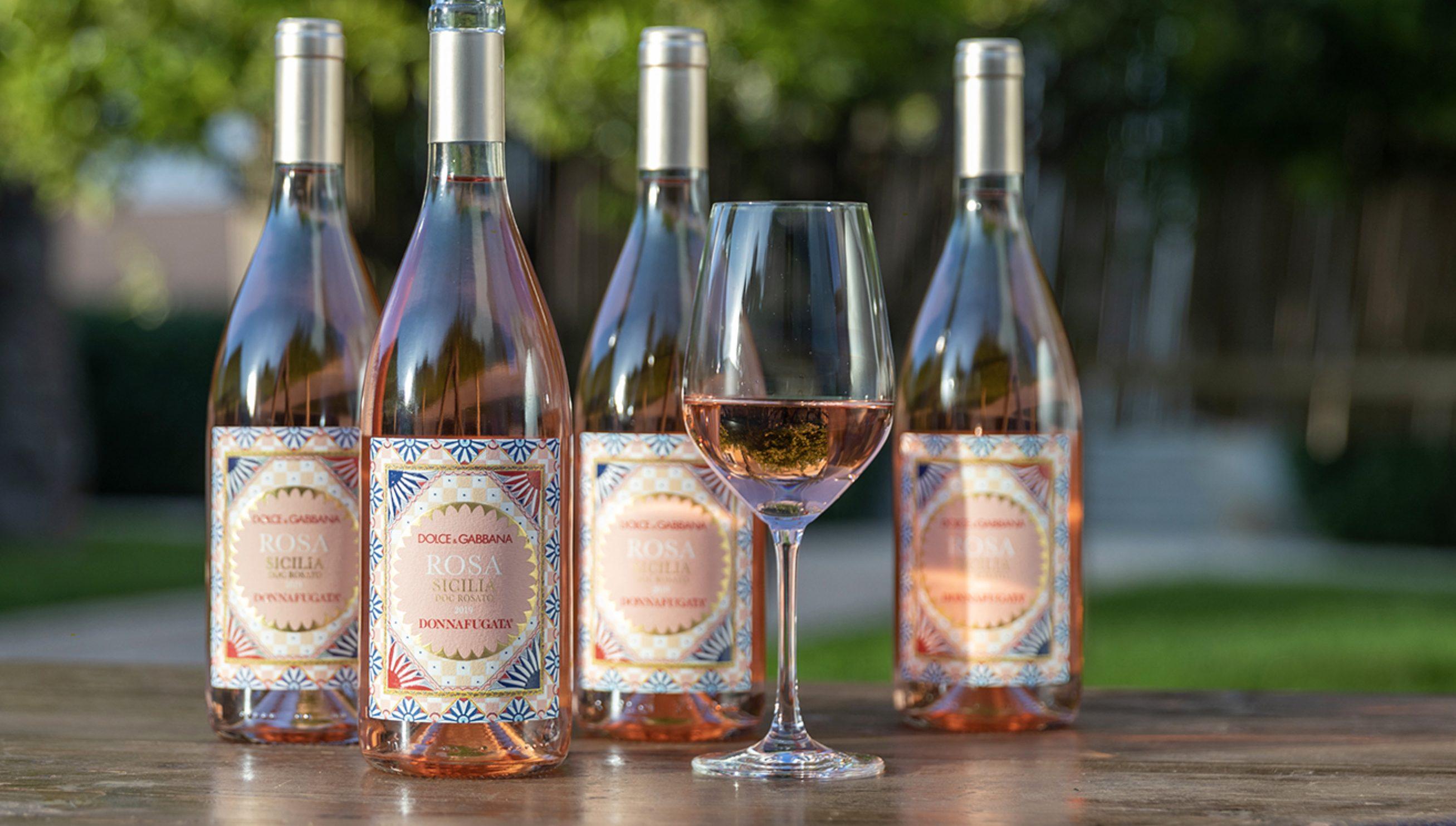 Dolce & Gabbana e Donnafugata producono insieme un vino rosato