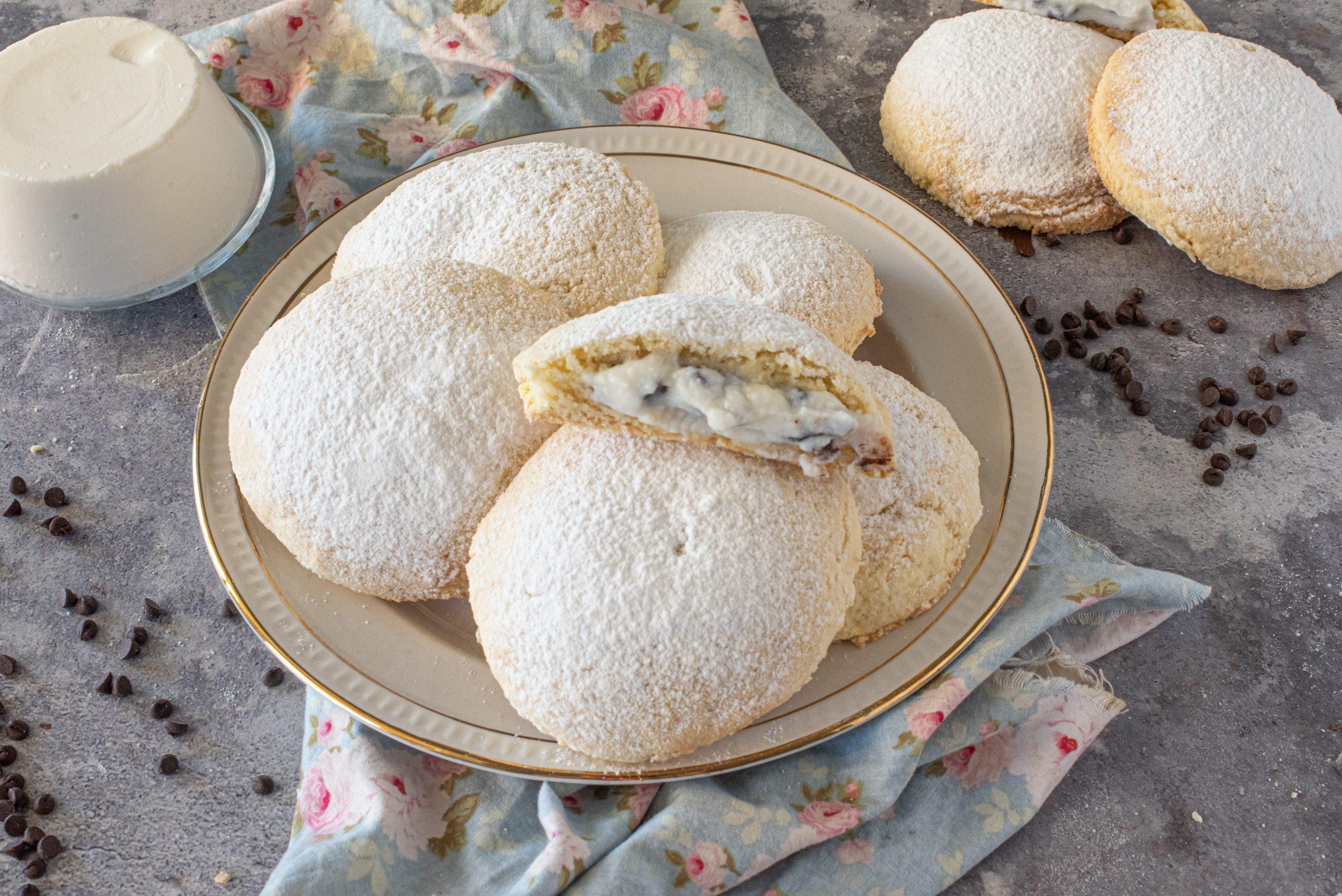 Genovesi ricotta e cioccolato: la ricetta dei golosi dolcetti della tradizione siciliana