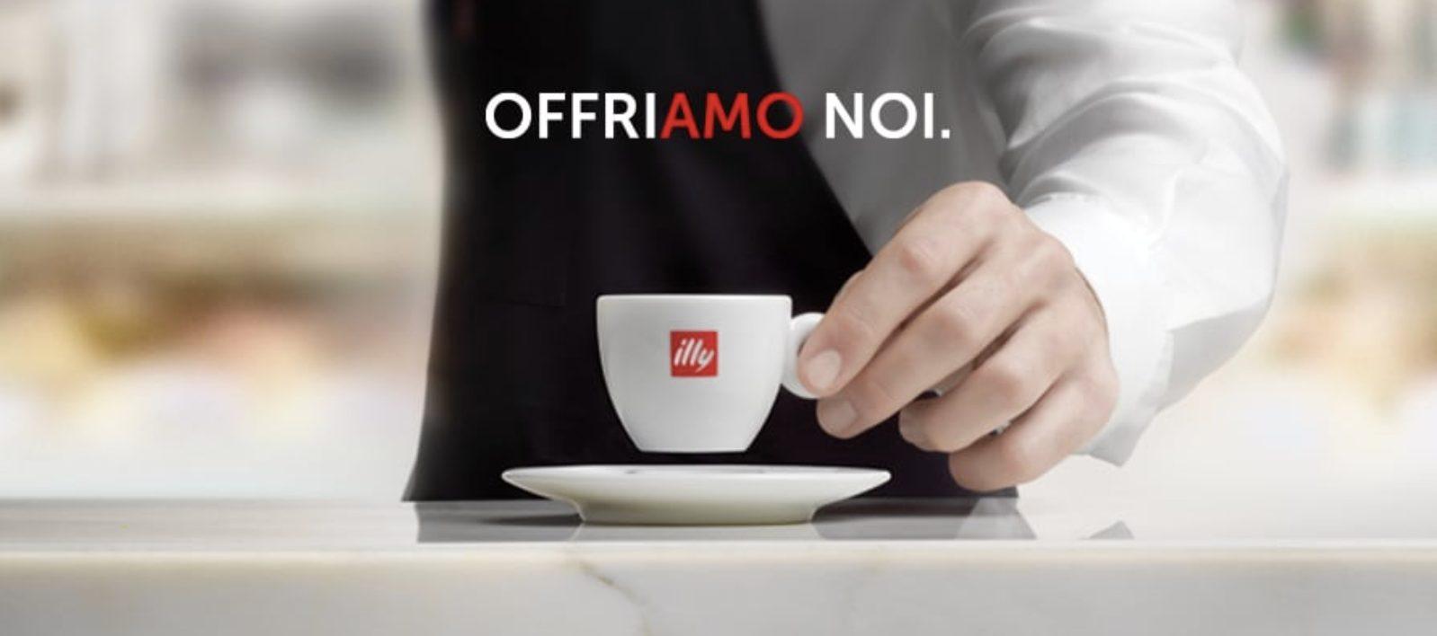 Ripartire con il sapore giusto: Illy offre il caffè a tutti gli italiani