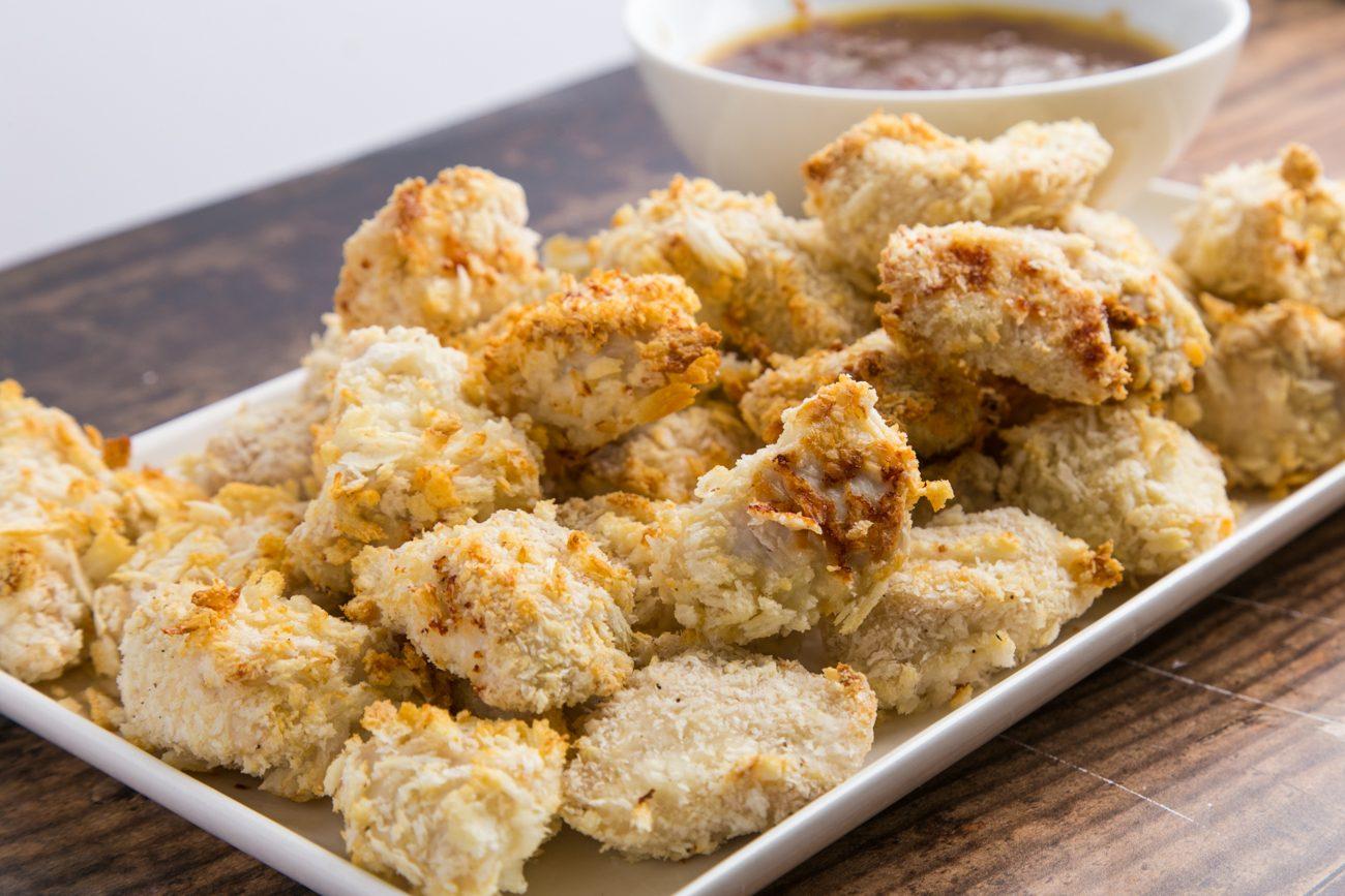Pepite di pollo al miele