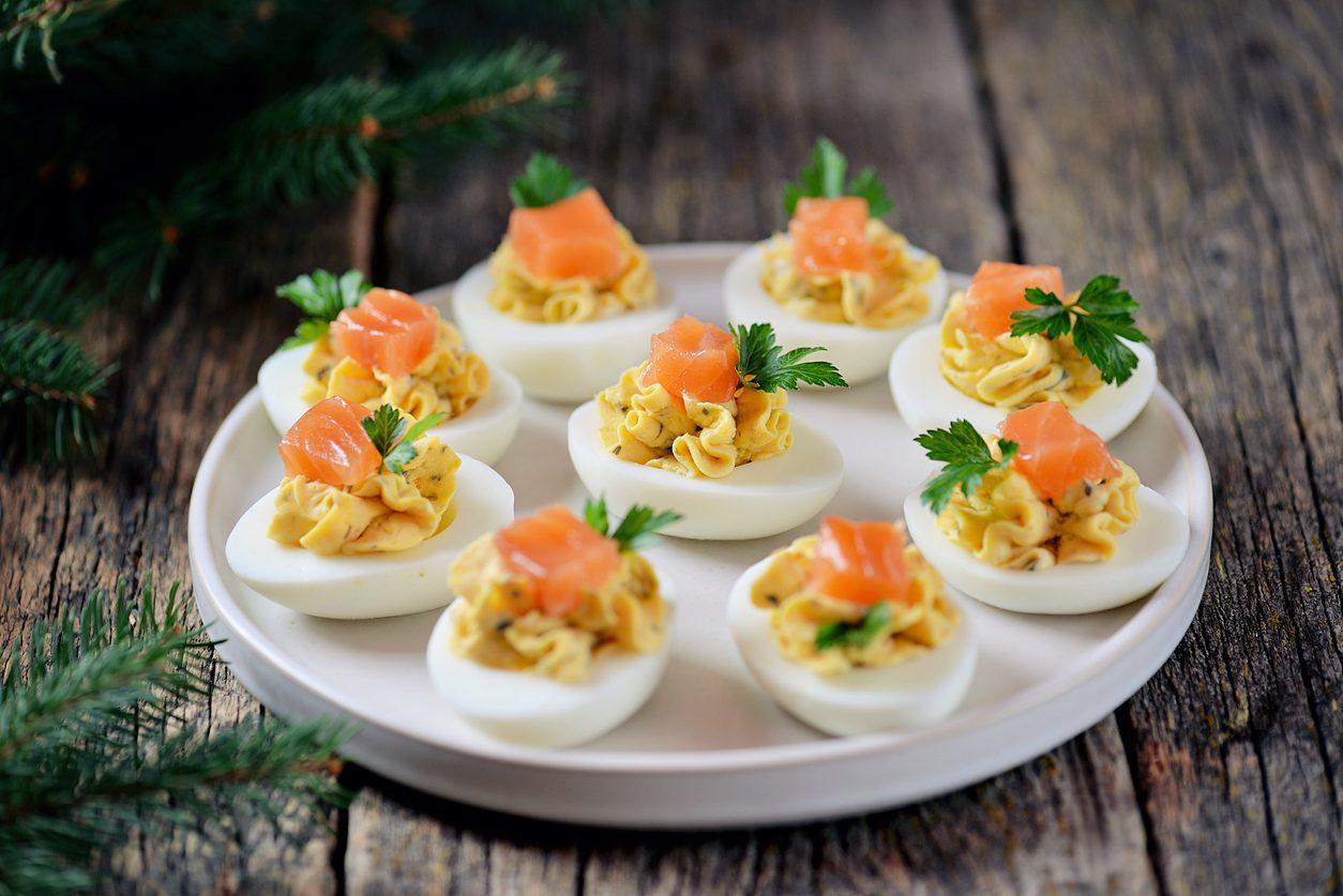 Antipasti con le uova: 7 idee per un buffet goloso