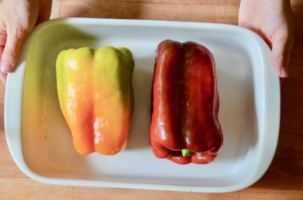 Bocconcini_di_pollo_in_padella_con_verdure_1_Arrostire Pomodori