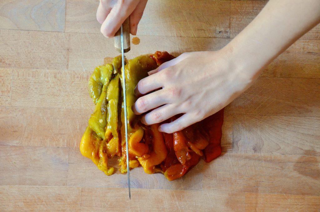 Bocconcini_di_pollo_in_padella_con_verdure_4_tagliare