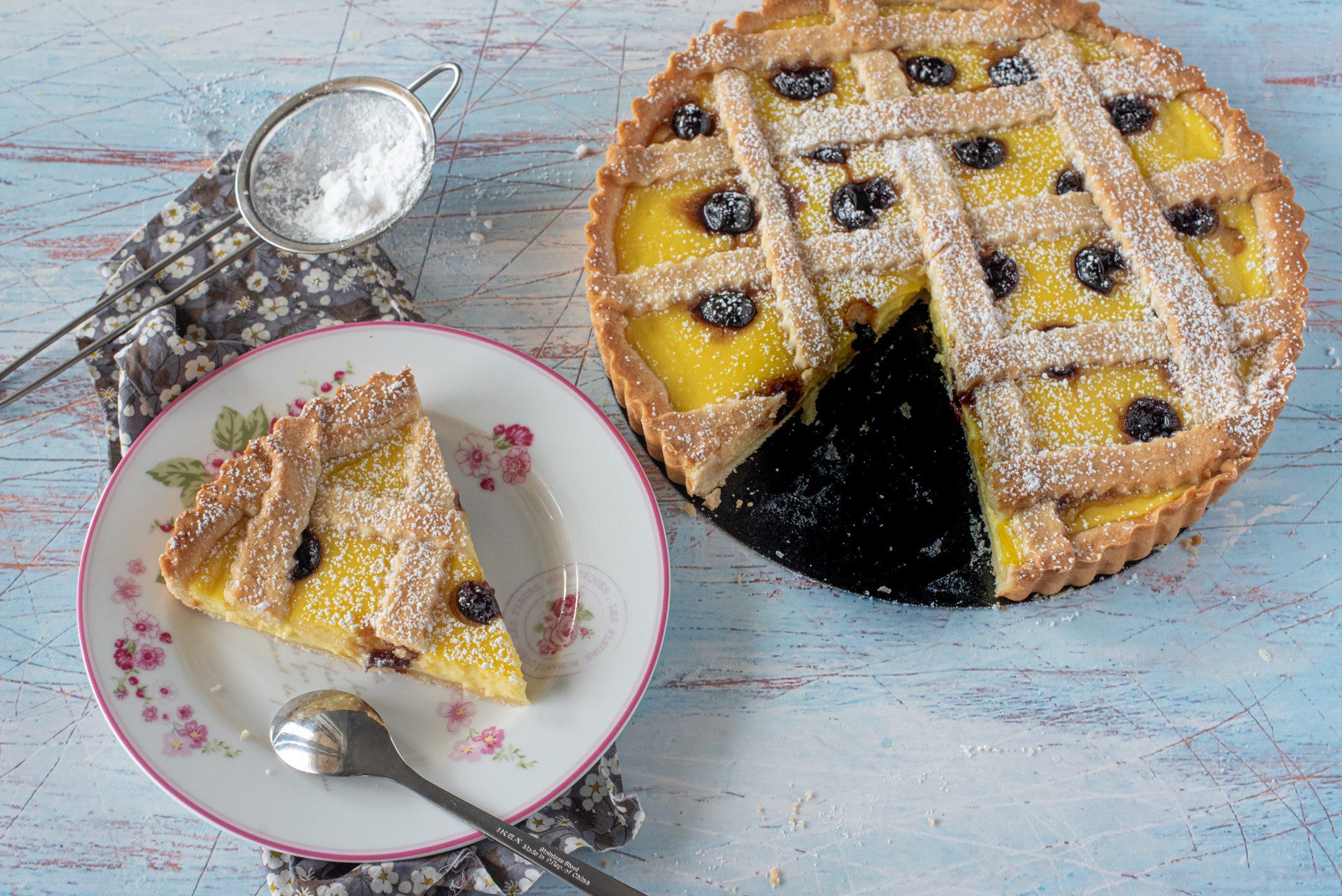 Crostata amalfitana: la ricetta del dolce raffinato e dal profumo irresistibile