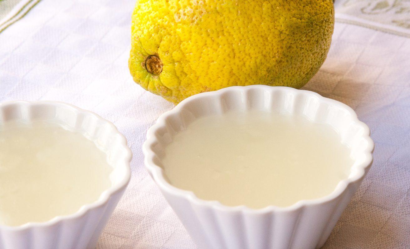 Gelo di limone: la ricetta del dolce al cucchiaio tipico della tradizione siciliana